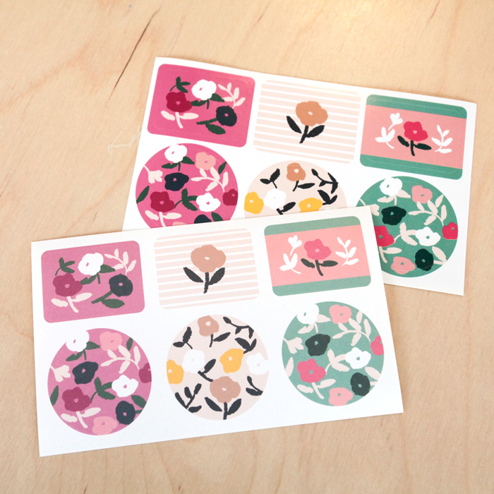 FLOWERS STICKER VOL.1CREAMY GARDEN